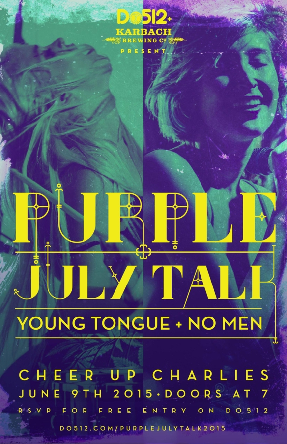 JulyTalk-Purple-poster